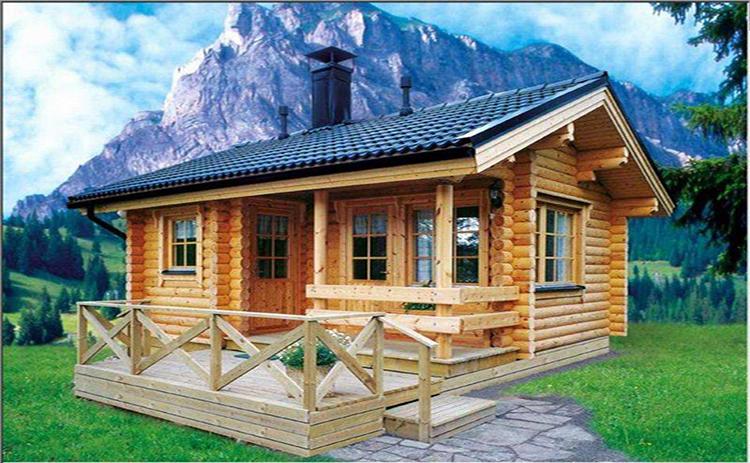 江西新余度假村木屋别墅碳纤维电热膜安装案例