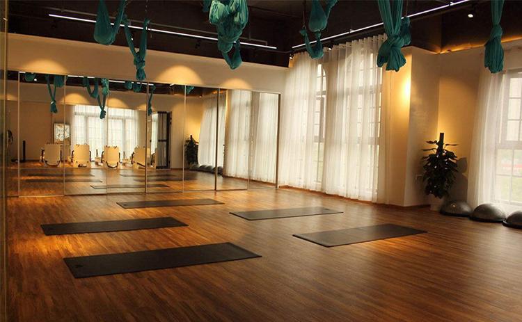 宏达广场瑜伽会所安装案例