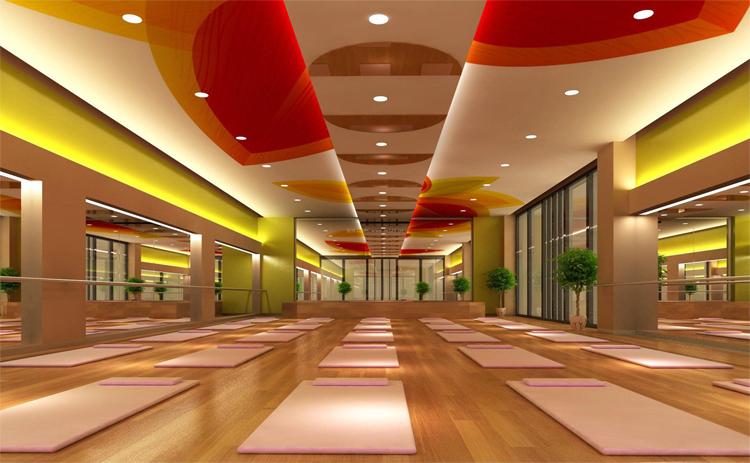 汇锦广场瑜伽店采用了我们的电热膜